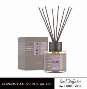 China Chemical Free Home Scents Reed Diffuser , Luxury Reed Diffuser Colorful Appearance on sale