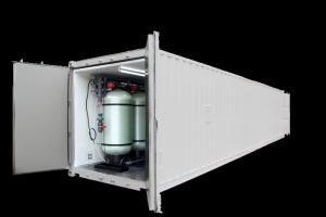 China Reverse Osmosis Industrial Water Purification Systems Containerized Movable Type on sale