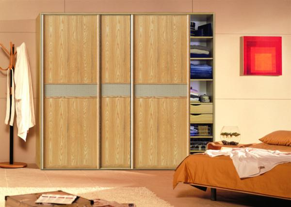 Contemporary Design Pvc Board Sliding Door Wardrobes 18mm Mdf Board Carcass Images & Contemporary Design Pvc Board Sliding Door Wardrobes 18mm Mdf Board ...