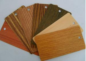 China Heat Transfer Wood Grain Powder Coating, SGS Sublimation Coating For Metal supplier
