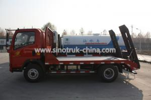 China Sinotruk Light Duty Commercial Trucks , 8 Tons Wrecker Tow TruckColor Optional on sale