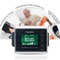Semaiconductor Pain Relief Low Level Laser Therapy Wrist Watch Home Elderly Diabetes