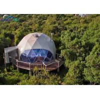 Army Military Dome Tent Hot DIP Galvanized Steel Geodesic Dome Tent