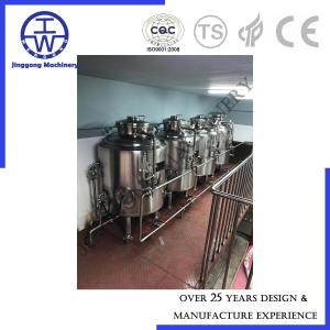 China 100L 200L Bright Beer Tank BBT With Manhole Insulated High Pressure 500L 800L 1000L on sale