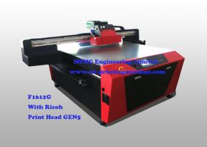 China Multi Colour Digital Glass Printing Machine For Office / Home Decoration on sale