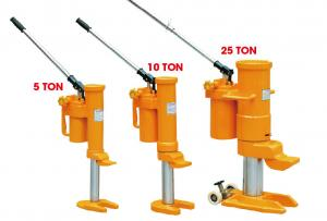 China 10 Ton High Lift Hydraulic Jack With Protected Against Overloading CE  , Removable Pump Lever on sale