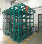 Unique loading capacity mould rack with electric hoists ,warranty 10 years ,factory direct customized solution