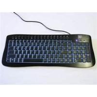 China OEM / ODM white / Black Super Slim Bluetooth Wireless Illuminated Metal Keyboard on sale