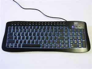 China OEM / ODM white / Black Super Slim Bluetooth Wireless Illuminated Metal Keyboard on sale