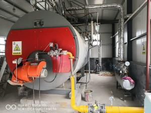gas oil fired low pressure industrial steam boiler for food factory