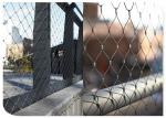 Animal Enclosure Flexible Stainless Steel Wire Mesh?Hand Woven Cable For Zoo
