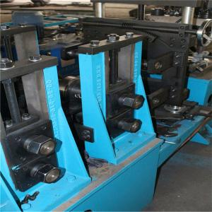China Automatic Metal Cable Tray Roll Forming Machine Line Cable Slot Making Machine on sale