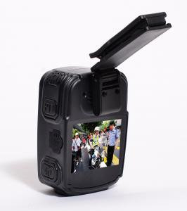 China Dustproof Police Worn Body Cameras , Wearable Police Cameras 80mm×57mm×30mm on sale