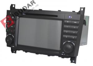 China 1080p Video Supported Mercedes Benz Car DVD Player For C Class W203 256Mb RAM on sale