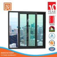 Alibaba China Supplier AS2047 Standard aluminium arch slilding window grill design