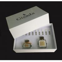 Luxury VIP Pretty Golden Foil Brand Present High EVA Holder Glossy Perfume Set Box