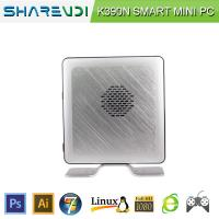 17W Intel Celeron Processor 1037U CPU HTPC Aluminum Alloy Case Barebone Fanless Mini Computer