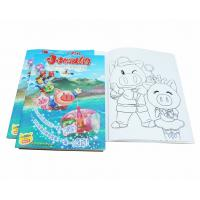 China A4 Size Coloring Books For Kids Clothing Business Developement , Toddler Coloring Book on sale