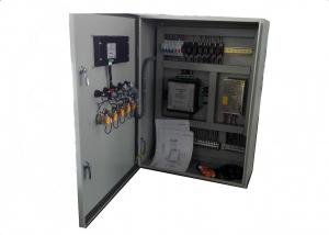 China Pump Electrical Control Panel , Electrical Breaker PanelMetal Enclosures on sale