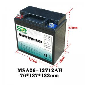China 12V Lead-Acid Replacement Medical Device Lithium Battery Electric Tools Power Long Cycle on sale