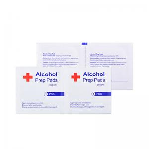 China Disposable Sterile Non Woven 70 Isopropyl Alcohol Pad on sale