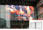 Transparent LED Screen See Through Indoor Fixed Shopping Mall Advertising Panel