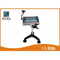 Continuous Small Character Inkjet Printer , Inkjet Date Code Printer With LCD Display