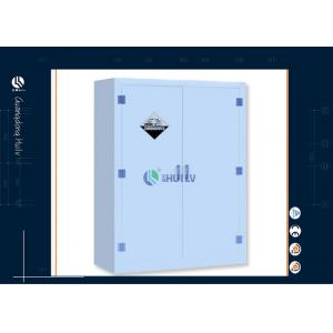 China 90 Gallon Locking Storage Cabinet 16mm MDF , Steel Storage Cabinets Alkali Material on sale