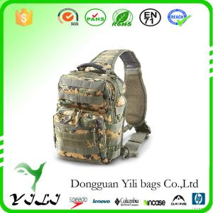 China Vintage Outdoor Hunting Sling Chest Bag Tactical Military Sling Bag Travel Hiking Male Sling Bags on sale