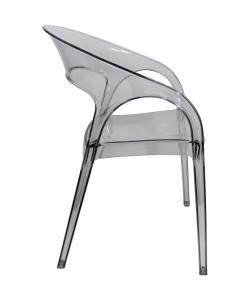 China Off - White Gossip Plastic Outdoor Stackable Chairs For Garden on sale
