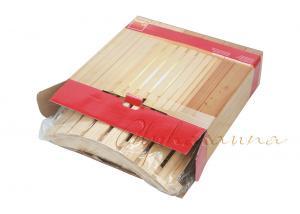 China Alphasauna Wood Lamp shade With Red Cedar / Pine / Hemlock / Birch Wood on sale