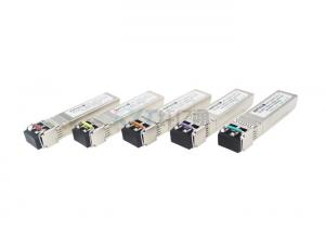 China 10G 1550NM SFP Transceiver Module Dual Fiber Transceiver With LC Connector on sale