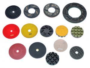China High Working Efficiency 3  4  5  6  Resin Diamond Floor Polishing Pads on sale