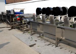 China OEM Vegetable Processor Machine , Food Dryer Machine Adjustable Running Speed on sale