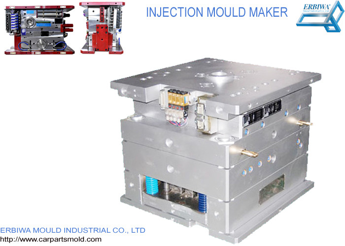 Custom House Hold Plastic Injection Molds Red Color Durable