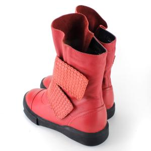 China 2015 NEW DESIGN EUROPEAN sheep skin LEATHER WOMEN ANKLE BOOT / WHOLESALE WOMEN FLAT BOOT on sale