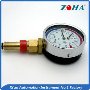 China Dial Boiler Thermometer Temperature Gauge / Mini Combined Temperature And Pressure Gauge on sale