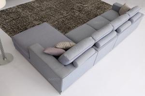 Quality Modular corner sofas , Luxury Fabric Sectional Corner Sofa , Italian sofa for sale