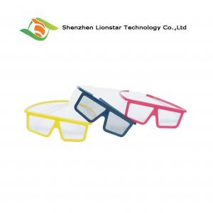 China Cinema Passive 3D Glasses  Linear Polarizer Film Chromadepth 3D Glasses For Three D Movies on sale