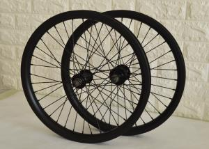 China Toray Carbon BMX Bikes 20 Inch Wheels , Carbon Fiber BMX Wheels Smooth Riding on sale