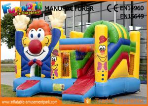 China Kid Game Clown Inflatable Bouncer Bounce Castle Jumping Castle For Kids on sale
