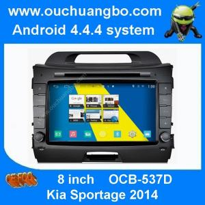 China Ouchuangbo S160 Kia Sportage 2014 audio DVD gps radio android 4.4 3G WIFI 1080P free map on sale