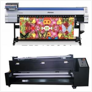 China 1.8M Large Format  Mimaki Textile Fabric Photo Printers For Banner And Signs on sale