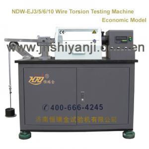 China NDW-EJ3/5/6/10 Metal Wires Torsion Testing Machine on sale