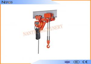 China 250kg Electric Chain Hoist Chain Fall Hoist Anti - Phase Protection Device on sale