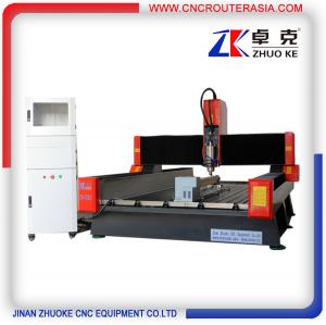 China Stone Engraving CNC Router with servo system and 4-axis NcStudio ZK-1325 on sale