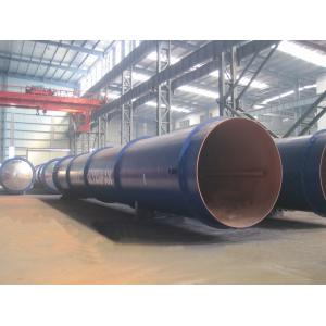 China Saturated Steam AAC Chemical Autoclave / AAC Block Machine , High Temperature on sale