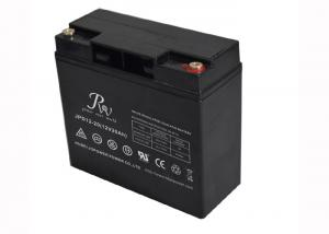 China Rechargeable Deep Cycle SAL Battery 12V 20AH For Marine Equipment Black Color on sale