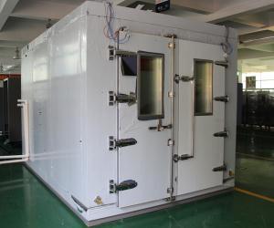 China Экологическая высокая температура Прогулк-в камере для испытывать кабельных проводок on sale