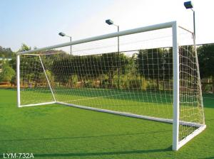 China FIFA standard Fixed Soccer Goals, football goal, soccer goal for 5 players,fustal soccer goal on sale
